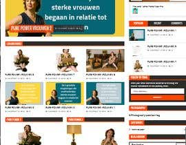 #21 for Design our new homepage and blog index page af saifulislam321