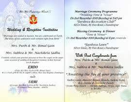 #8 für Build me a E-Wedding Card von farhanajahan49