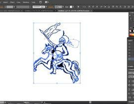 #10 for Interpret and draw vector image based on low-resolution bitmap af Shakil1010