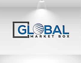 #13 for I need a logo designed for Global Market Box in black and white, thin clean font, maybe including the compass shape and globe. Not too busy. (Photo attached is just an idea to incorporate.) af mindreader656871