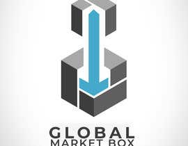 #18 for I need a logo designed for Global Market Box in black and white, thin clean font, maybe including the compass shape and globe. Not too busy. (Photo attached is just an idea to incorporate.) af ansifanwer