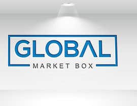 #8 for I need a logo designed for Global Market Box in black and white, thin clean font, maybe including the compass shape and globe. Not too busy. (Photo attached is just an idea to incorporate.) af Bloosomhelena