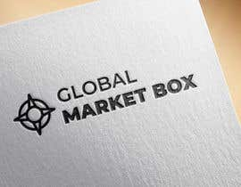 #4 for I need a logo designed for Global Market Box in black and white, thin clean font, maybe including the compass shape and globe. Not too busy. (Photo attached is just an idea to incorporate.) af mpaulagerard