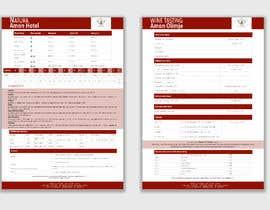 Nro 3 kilpailuun Redesing pricelist in Microsoft Word Office käyttäjältä nucisdesigns