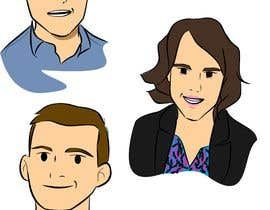 #11 for Draw caricatures of 8 heads, to put on a company Christmas card af ronaldvale