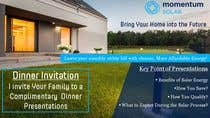 Proposition n° 19 du concours Graphic Design pour Create a Leave-behind/Dinner Invitation for potential solar customers
