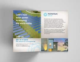 nº 26 pour Create a Leave-behind/Dinner Invitation for potential solar customers par DavK7
