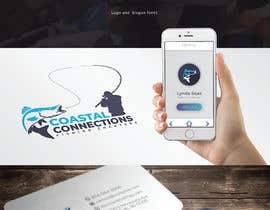 #149 para Coastal Connections Fishing Charters - New Custom Logo Contest por OviRaj35
