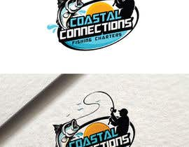 #9 para Coastal Connections Fishing Charters - New Custom Logo Contest por fourtunedesign