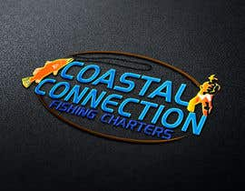 #139 para Coastal Connections Fishing Charters - New Custom Logo Contest por tanjilalom24