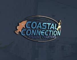 #140 para Coastal Connections Fishing Charters - New Custom Logo Contest por tanjilalom24