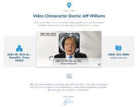 #2 for Homepage Mockup for Chiropractor by SimranChandok