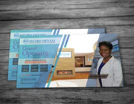 #5 for Design a direct mail post card for a new dental office by izubi00