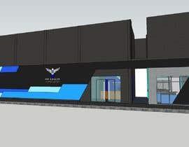 Nro 291 kilpailuun The Eagles gaming center (branding +interior design +  banner exterior design) käyttäjältä aliwafaafif