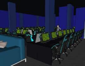 Nro 294 kilpailuun The Eagles gaming center (branding +interior design +  banner exterior design) käyttäjältä aliwafaafif