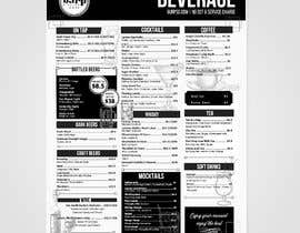 #9 for Build me a bar beverage menu af karypaola83