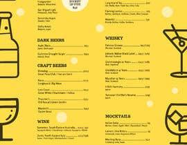 #2 for Build me a bar beverage menu af brnkckylmz