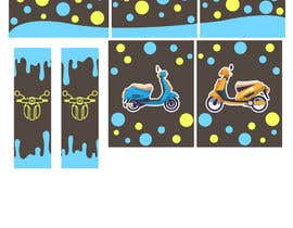 #29 untuk Moped.Ge Moped and Motorcycle shop front sticker design oleh aqibzahir06