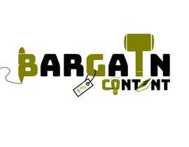 #35 za Logo design for BargainContent.com od JRdeMenezes