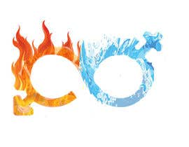 #35 for Design a Logo with realistic looking fire and water af imagevideoeditor