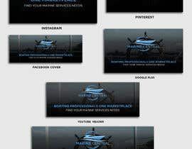 #38 for Design Brand and Social Media Look for Marine Company by arifmahmud82