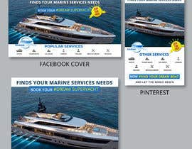 #43 for Design Brand and Social Media Look for Marine Company by DhanvirArt