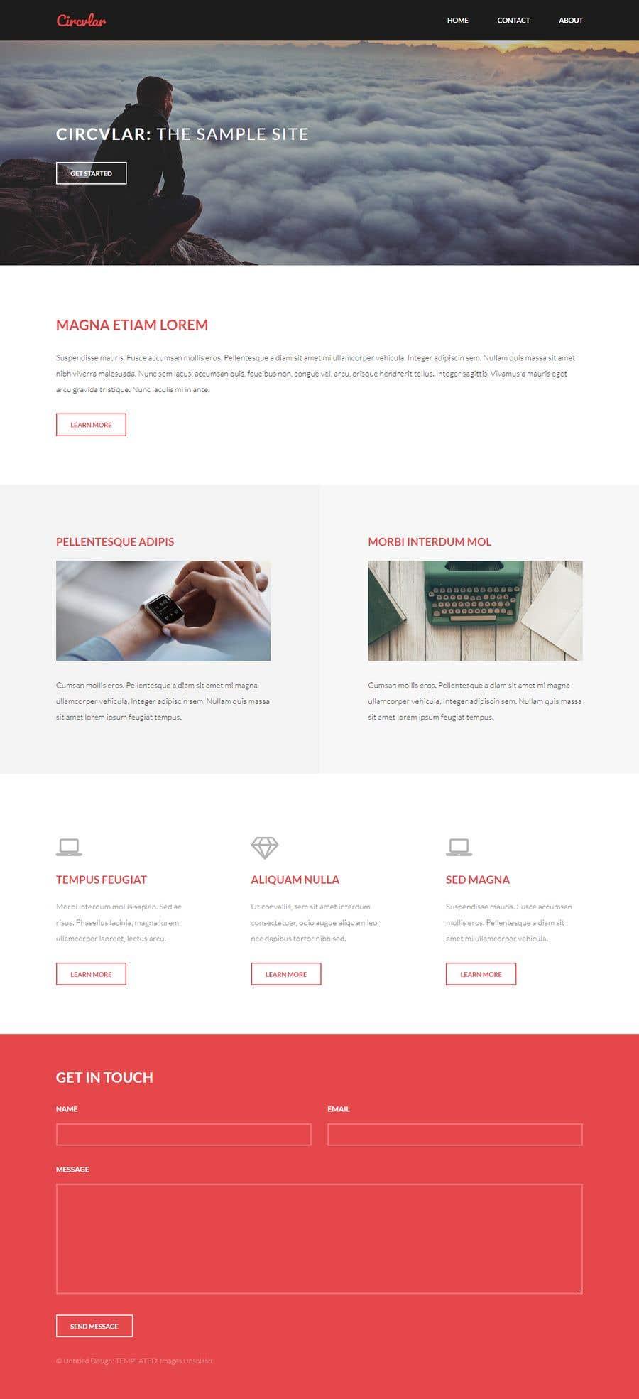 Konkurrenceindlæg #31 for Website and Logo
