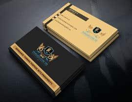 #134 para Design double sided business cards por MOMODart