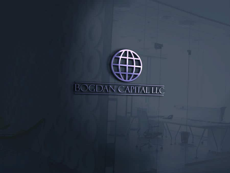 """Penyertaan Peraduan #6 untuk Need someone to create a logo for my financial business which is called """"BOGDAN CAPITAL LLC"""" Thinking to do something classy with letters something similar to what i have included in the attachment."""