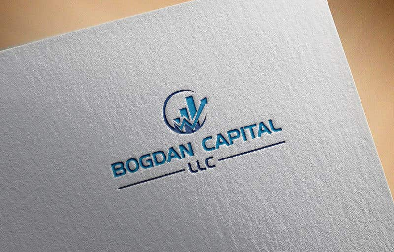"Penyertaan Peraduan #49 untuk Need someone to create a logo for my financial business which is called ""BOGDAN CAPITAL LLC"" Thinking to do something classy with letters something similar to what i have included in the attachment."