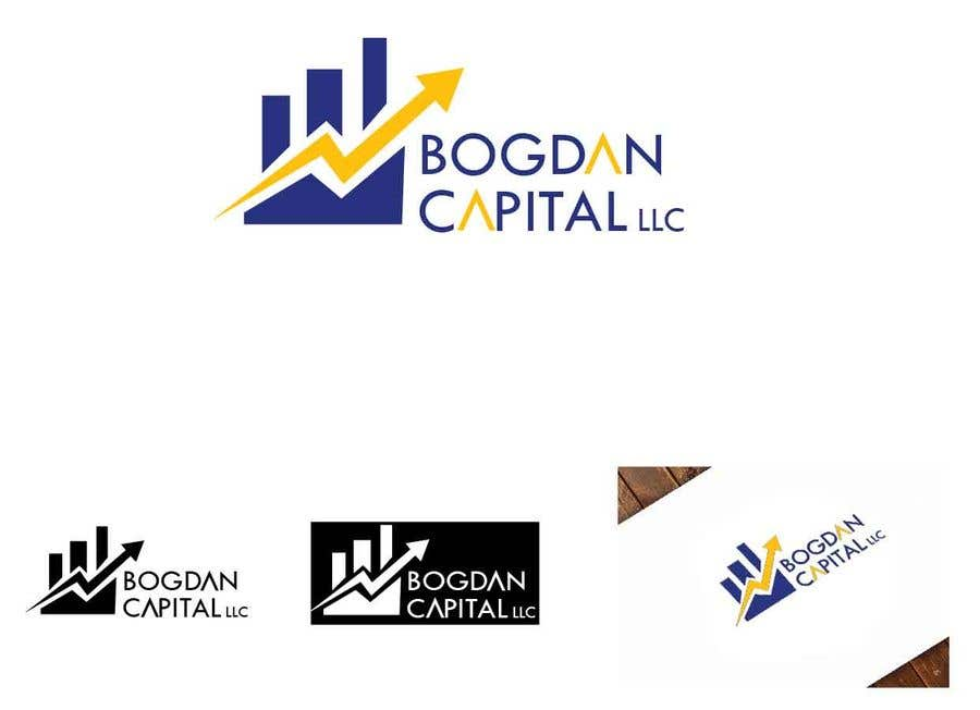 """Penyertaan Peraduan #55 untuk Need someone to create a logo for my financial business which is called """"BOGDAN CAPITAL LLC"""" Thinking to do something classy with letters something similar to what i have included in the attachment."""