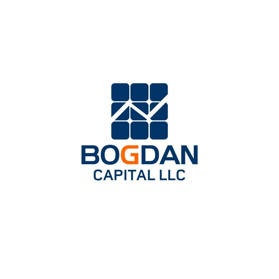 """Penyertaan Peraduan #39 untuk Need someone to create a logo for my financial business which is called """"BOGDAN CAPITAL LLC"""" Thinking to do something classy with letters something similar to what i have included in the attachment."""