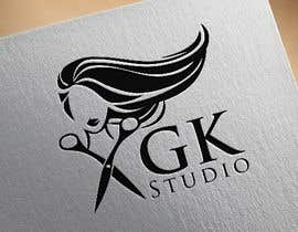 #18 for I have recently started my own hairdressing studio and I need a logo done up.  I would like to incorporate the name of the business into the logo somehow - GK Studio by imshamimhossain0