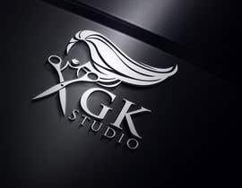 nº 19 pour I have recently started my own hairdressing studio and I need a logo done up.  I would like to incorporate the name of the business into the logo somehow - GK Studio par imshamimhossain0