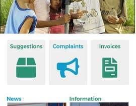 Nro 1 kilpailuun Re-design the middle to lower part of a mobile app main page käyttäjältä saadamirr12