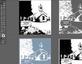 #30 for Draw an outline of this church in illustrator. by SaherN93