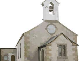 #38 for Draw an outline of this church in illustrator. by stephaniehendren