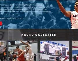 Nro 10 kilpailuun Build me a WordPress Website For Basketball team käyttäjältä taherreza08
