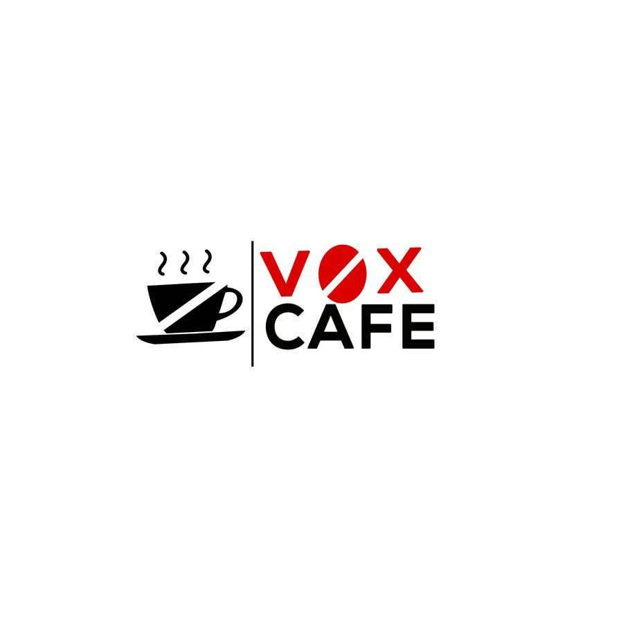 Konkurrenceindlæg #19 for Current logo attached..need a new logo...vox cafe is the name