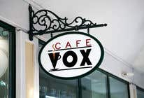 Graphic Design Konkurrenceindlæg #46 for Current logo attached..need a new logo...vox cafe is the name