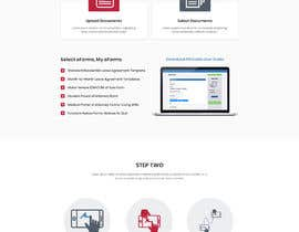 #13 for Website UI Design~ Clean Professional Simple by anamikaantu