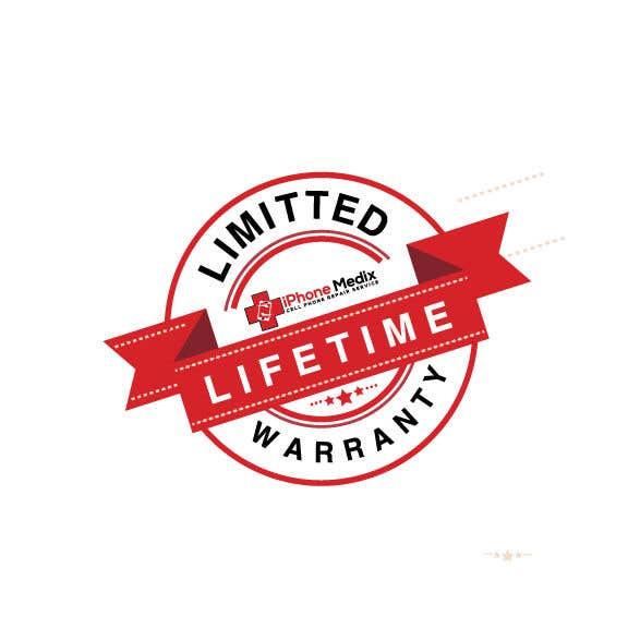 Penyertaan Peraduan #13 untuk Limited Lifetime Warranty image design
