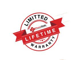#13 untuk Limited Lifetime Warranty image design oleh MRawnik