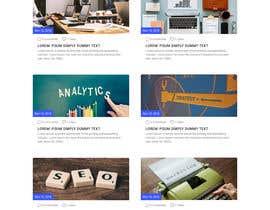 Nro 30 kilpailuun Design a website basis a design concept that's already in place. käyttäjältä pixelmarketo