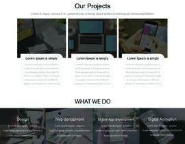 Nro 41 kilpailuun Design a website basis a design concept that's already in place. käyttäjältä rezaulhoquebd24