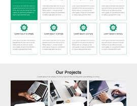 Nro 34 kilpailuun Design a website basis a design concept that's already in place. käyttäjältä sneha15112018