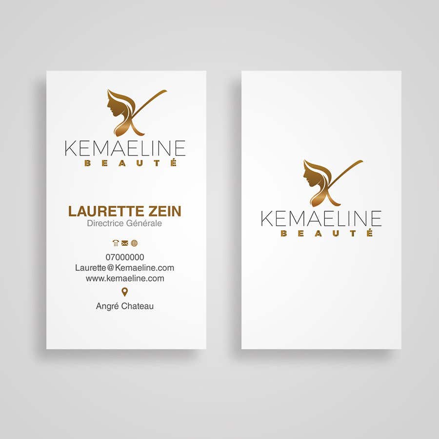 Proposition n°                                        8                                      du concours                                         NEED VERTICAL BUSINESS CARD (URGENT)