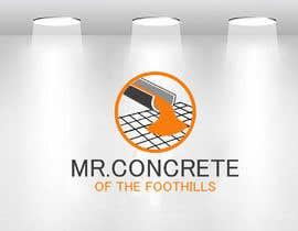 #38 for Mr Concrete of the Foothills Logo af ideaplus37