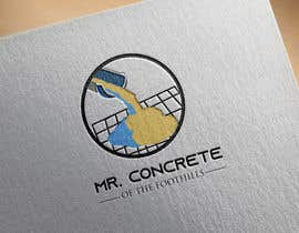 #35 for Mr Concrete of the Foothills Logo af najmul7
