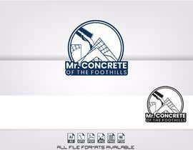 #42 for Mr Concrete of the Foothills Logo af alejandrorosario